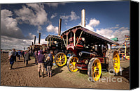 Blandford Canvas Prints - Showmans Engines at Dorset  Canvas Print by Rob Hawkins