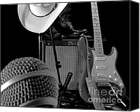 Amp Canvas Prints - Shows Over - BW Canvas Print by Robert Frederick