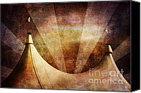 Nostalgic Digital Art Canvas Prints - Showtime Canvas Print by Andrew Paranavitana