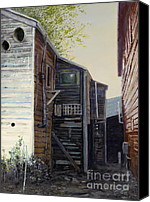 Great Painting Canvas Prints - Side View Canvas Print by Peter Jai