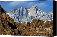 Telling Canvas Prints - Sierra Nevada California Canvas Print by Bob Christopher