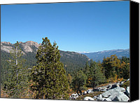 Mountain View Photo Canvas Prints - Sierra Nevada Mountains 2 Canvas Print by Irina  March