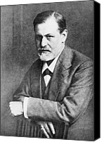 Viennese Canvas Prints - Sigmund Freud 1856-1939, At Age 45 Canvas Print by Everett