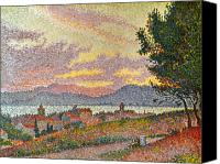 Signac Canvas Prints - Signac: St Tropez, 1896 Canvas Print by Granger