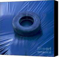 Feed Canvas Prints - Silage Canvas Print by Bernard Jaubert