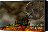 Haunted House Canvas Prints - Silent Hill 2 Canvas Print by Dan Stone