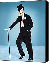 1950s Movies Canvas Prints - Silk Stockings, Fred Astaire, 1957 Canvas Print by Everett