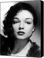 1940s Portraits Canvas Prints - Simone Signoret, C. 1940s Canvas Print by Everett
