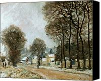 Louveciennes Canvas Prints - SISLEY: LOUVECIENNES, c1874 Canvas Print by Granger