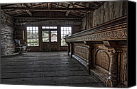 Pioneers Canvas Prints - Skinners Saloon Bar -- Bannack Ghost Town Montana Canvas Print by Daniel Hagerman