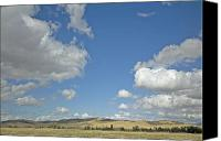 Rolling Hills Canvas Prints - Skys the Limit Canvas Print by Bonnie Bruno