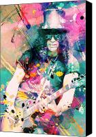 Slash Canvas Prints - Slash Canvas Print by Rosalina Atanasova