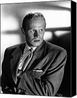 Publicity Shot Canvas Prints - Slatterys Hurricane, Richard Widmark Canvas Print by Everett