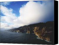 County Donegal Photo Canvas Prints - Slieve League, County Donegal, Ireland Canvas Print by The Irish Image Collection 