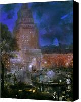 Washington Square Canvas Prints - Sloan: Washington Square Canvas Print by Granger