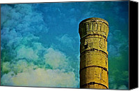 Singular Canvas Prints - Smokestack Canvas Print by Odd Jeppesen