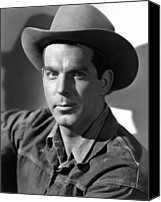 1946 Movies Canvas Prints - Smoky, Fred Macmurray, 1946 Canvas Print by Everett