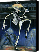 Smooth Canvas Prints - Smooth Criminal Canvas Print by Tu-Kwon Thomas