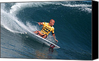Kelly Slater Canvas Prints - Smooth Operator Canvas Print by Kevin Smith