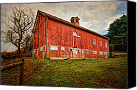 Impressionism Photo Canvas Prints - Smyrski Farm  Canvas Print by Bill  Wakeley