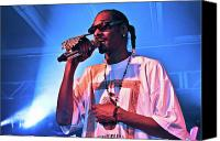Rapper. Musician Canvas Prints - Snoop Canvas Print by Karl Capelli