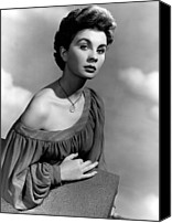 1950 Movies Photo Canvas Prints - So Long At The Fair, Jean Simmons, 1950 Canvas Print by Everett
