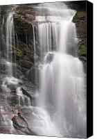 Parkway Canvas Prints - Soco Falls North Carolina Canvas Print by Steve Gadomski