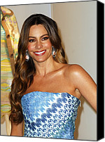 Sofia Canvas Prints - Sofia Vergara At Arrivals For Rodeo Canvas Print by Everett