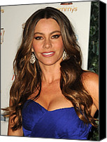 Sofia Canvas Prints - Sofia Vergara At Arrivals For The 63rd Canvas Print by Everett