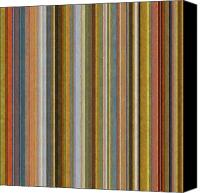  Backdrop Canvas Prints - Soft Stripes ll Canvas Print by Michelle Calkins