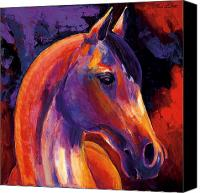 Abstract Equine Canvas Prints - Soldier Canvas Print by Bob Coonts
