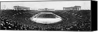 Field Sports Canvas Prints - Soldier Field, Chicago, Illinois, Circa Canvas Print by Everett