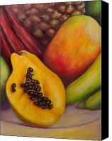Mangoes Canvas Prints - Solo Canvas Print by Shannon Grissom