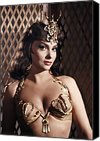1950s Movies Canvas Prints - Solomon And Sheba, Gina Lollobrigida Canvas Print by Everett