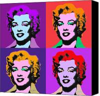 Marylin Canvas Prints - Some Like It Cool Canvas Print by Charles Stuart