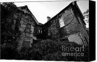 Haunted House Photo Canvas Prints - Something in the window Canvas Print by David Lee Thompson
