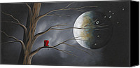 Love Canvas Prints - Sometimes He Just Wants To Be Alone by Shawna Erback Canvas Print by Shawna Erback