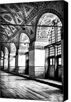 Byzantine Canvas Prints - Sophia Columns Canvas Print by John Rizzuto