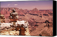 Cloud Glass Canvas Prints - South Rim, Grand Canyon Canvas Print by Noelle Smith