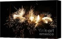 Pyrotechnics Canvas Prints - Spark snake Canvas Print by Agusti Pardo Rossello