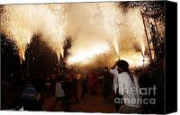 Pyrotechnics Canvas Prints - Spark tree Canvas Print by Agusti Pardo Rossello