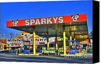 Photographers Atlanta Canvas Prints - Sparkeys Canvas Print by Corky Willis Atlanta Photography