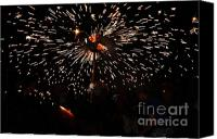 Pyrotechnics Canvas Prints - Sparkling stick Canvas Print by Agusti Pardo Rossello