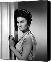 1960 Movies Canvas Prints - Spartacus, Jean Simmons, 1960 Canvas Print by Everett