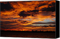 Loveland Canvas Prints - Spectacular Sunrise  Canvas Print by Billie Colson