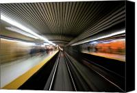 Urban Photo Special Promotions - Speed Canvas Print by Brian Carson