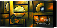Fine Photography Art Painting Canvas Prints - Spheres of Influence Canvas Print by Uma Devi