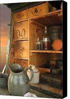 Chuck Wagon Canvas Prints - Spice Rack Canvas Print by Robert Anschutz