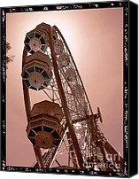 Structural Canvas Prints - Spinning Like A Ferris Wheel Canvas Print by Glenn McCarthy Art and Photography