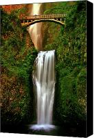 Capture Canvas Prints - Spiritual Falls Canvas Print by Scott Mahon